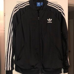 Adidas logo black jacket